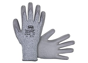 כפפות HPPE Knit Glove with PU Palm