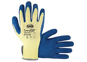 כפפות חיתוך Aramid Yarn Glove with Latex Palm